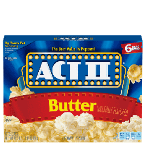 Act II Butter Popcorn (Single)