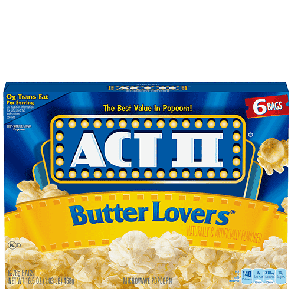 Act II Butter Lovers Popcorn (Single)
