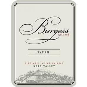 2012 Burgess Syrah Napa Valley 750 ML