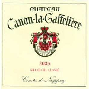 2003 Chateau Canon La Gaffeliere St. Emilion  (750 ML)