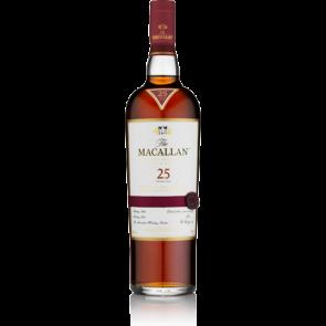 Macallan 25 Years Old Sherry Oak  (750 ML)