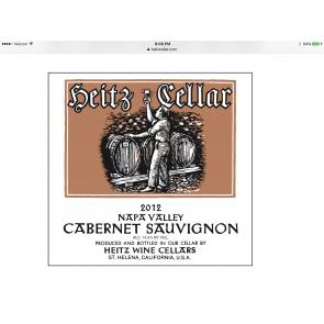2012 Heitz Cellars Cabernet Sauvignon 750 ML