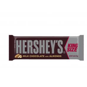 Hershey's Milk Chocolate With Almonds King Size