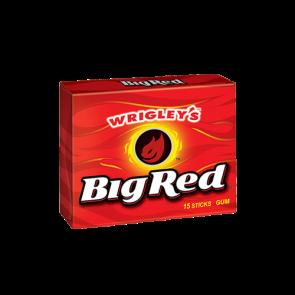 Wrigley's Big Red Gum 15 Sticks