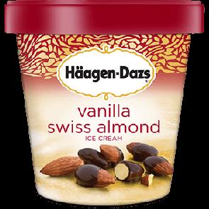 Hagen Dazs Vanilla Swiss Almond 1pt