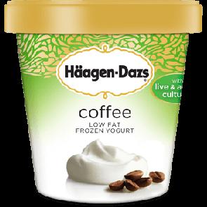 Hagen Dazs Coffee Frozen Yogurt 1pt