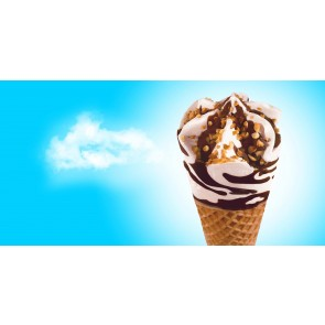 Nestle Drumstick King Size Vanilla with Chocolate Swirl
