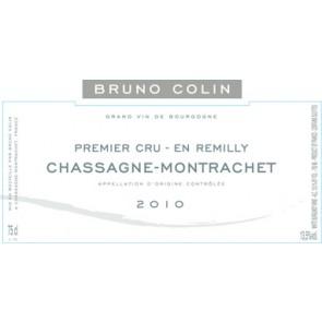 2009 Bruno Colin Chassagne Montrachet En Remilly 750 ML