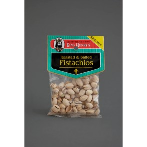 King Henry's Roasted Salted Pistachios 3oz