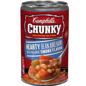 Campbell's Chunky Soup Hearty Bean & Ham 18.8oz