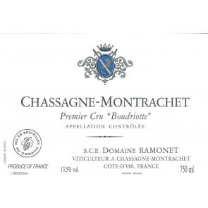 2013 Ramonet Chassagne Montrachet Boudriotte (750ML)