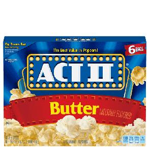 Act II Butter Popcorn (Single)