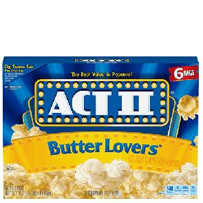 Act II Butter Lovers Popcorn (Single)