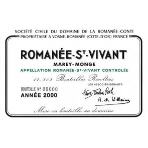 2014 Romanee Conti DRC St. Vivant (750ML)