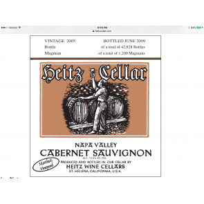 2006 Heitz Cellars Martha's Vineyard Cabernet Sauvignon (750ML)