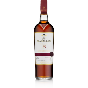 Macallan 25 Years Old Sherry Oak  (750 ML)