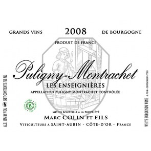2013 Marc Colin Puligny Montrachet Les Enseignieres 750 ML