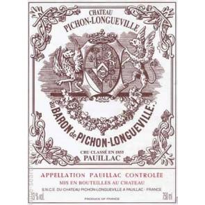 2006 Chateau Pichon Baron Pauillac 750 ML