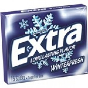 Extra Winterfresh Gum 15 Sticks