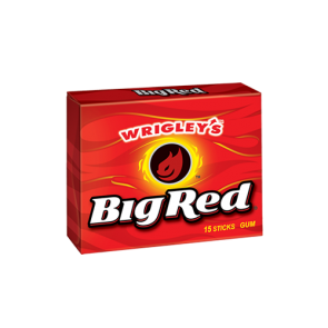 Wrigley's Big Red Gum 15 Sticks