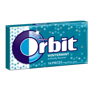 Orbit Wintermint Gum 14 Pieces