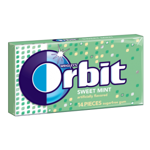 Orbit Sweet Mint Gum 14 Pieces
