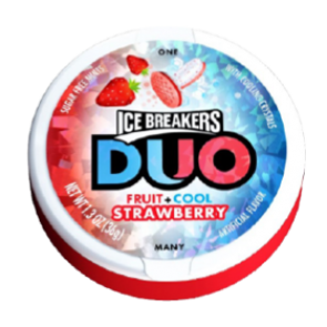 Ice Breakers Duo Fruit + Cool Strawberry
