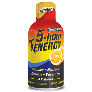 5 Hour Energy Orange