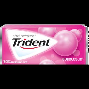 Trident Gum Bubble Gum