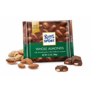 Ritter Sport Milk Chocolate Whole Almonds
