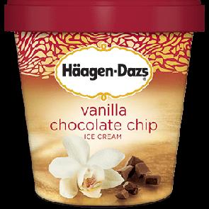 Haagen Dazs Vanilla Chocolate Chip 1pt