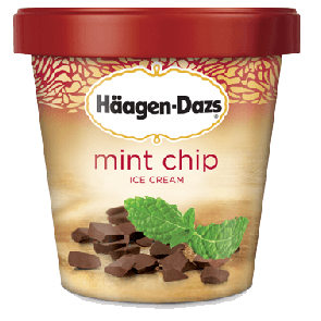 Haagen Dazs Mint Chip (1pt)