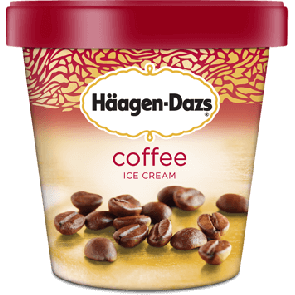 Haagen Dazs Coffee (1pt)