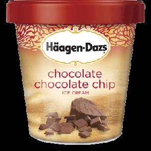 Haagen Dazs Chocolate Chocolate Chip Cookie Dough (1pt)