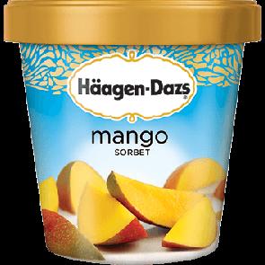 Haagen Dazs Mango Sorbet 1pt