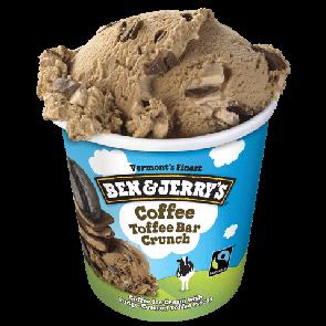 Ben & Jerry's Coffee Toffee Bar Crunch 1pt
