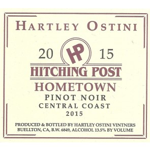 2013 Hitching Post Hometown Pinot Noir 750 ML