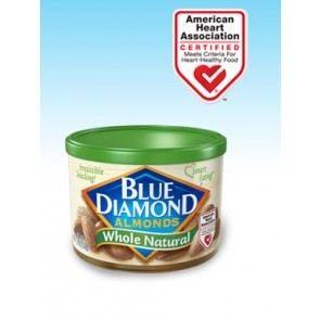Blue Diamond Whole Natural Almonds 6oz Can