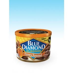 Blue Diamond Honey Roasted Almonds 6oz Can