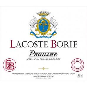 2010 Lacoste Borie Pauillac (750 ML)