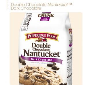 Pepperidge Farm Cookies Double Chocolate Nantucket
