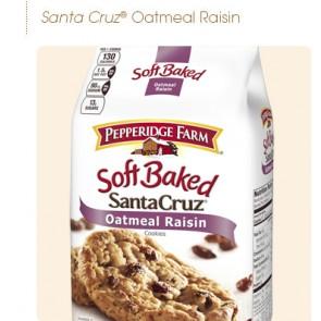 Pepperidge Farm Cookies Soft Baked Santa Cruz