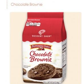 Pepperidge Farm Cookies Chocolate Brownie