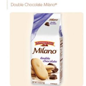 Pepperidge Farm Milano Cookies Double Chocolate