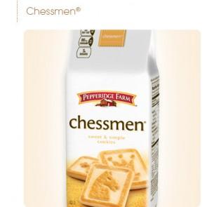 Pepperidge Farm Cookies Chessmen