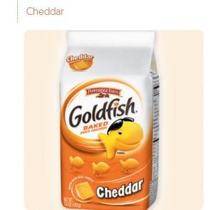 Pepperidge Farm Cookies Cheddar Goldfish
