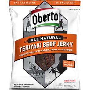 Oberto Beef Jerky Teriyaki  3.25oz