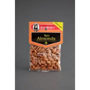 King Henry's Raw Almonds 2.25oz
