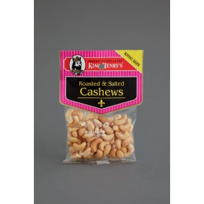 King Henry's Roasted Salted Cashews 2oz