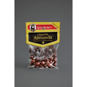 King Henry's Chocolate Almonds (3.75oz)